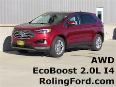 Used 2019 Ford Edge Titanium SUV 2FMPK4K91KBB35190 for sale in Shell Rock at Roling Ford