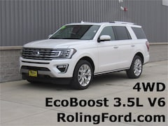 New 2019 Ford Expedition Limited SUV for sale in Shell Rock at Roling Ford