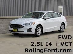 New 2019 Ford Fusion S Sedan 3FA6P0G74KR195604 for sale in Cedar Falls