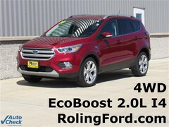 Used 2018 Ford Escape Titanium SUV 1FMCU9J9XJUA61722 for sale in Shell Rock at Roling Ford