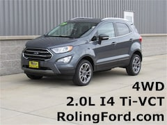 New 2019 Ford EcoSport Titanium SUV MAJ6S3KL9KC252169 for sale in Shell Rock at Roling Ford