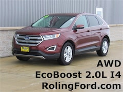 Used 2015 Ford Edge SEL SUV 2FMTK4J91FBB96061 for sale in Shell Rock at Roling Ford