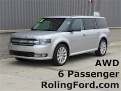 New 2018 Ford Flex SEL SUV 2FMHK6C88JBA08988 for sale in Shell Rock at Roling Ford