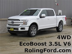 New 2019 Ford F-150 Lariat Truck 1FTEW1E48KKC65942 for sale in Shell Rock at Roling Ford