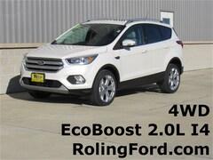 New 2019 Ford Escape Titanium SUV 1FMCU9J98KUA31247 for sale in Cedar Falls