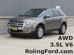 Used 2013 Ford Edge SEL SUV 2FMDK4JC1DBE31748 for sale in Shell Rock at Roling Ford