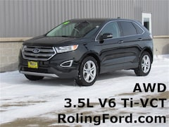 Used 2018 Ford Edge Titanium SUV 2FMPK4K84JBB87998 for sale in Shell Rock at Roling Ford