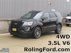 Used 2017 Ford Explorer Sport SUV 1FM5K8GT3HGA02127 for sale in Shell Rock at Roling Ford