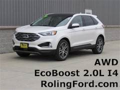 New 2019 Ford Edge Titanium SUV 2FMPK4K91KBB40681 for sale in Shell Rock at Roling Ford