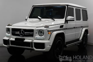 2015 Mercedes-Benz G-Class G63 AMG DESIGNO LEATHER VUS