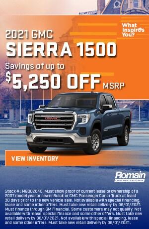 May | 2021 GMC Sierra 1500 | Savings