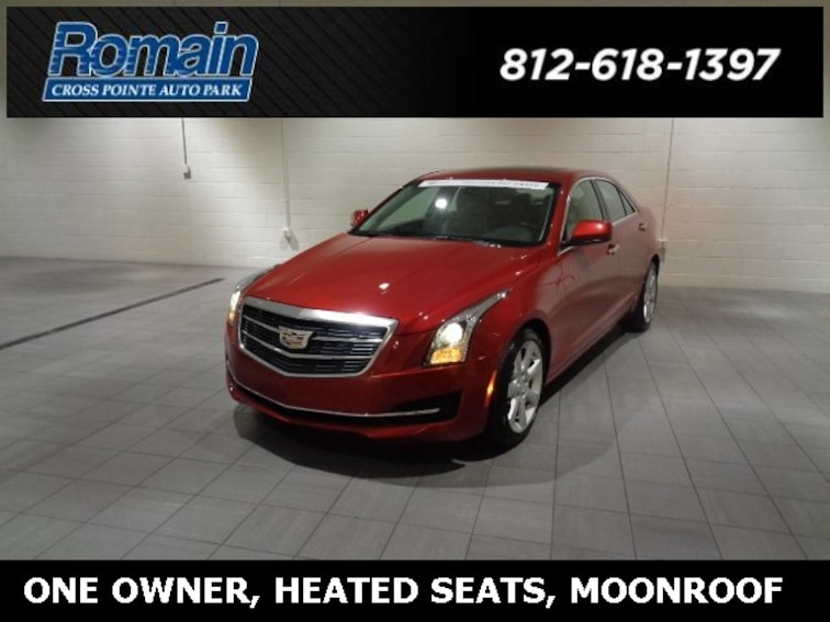 Used 2015 Cadillac Ats For Sale Evansville In Vin 1g6aa5rxxf0134654