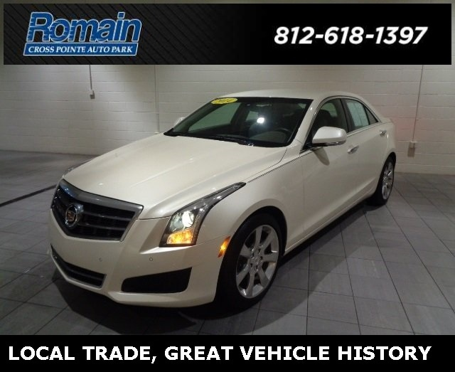 Used 2014 CADILLAC ATS For Sale | Evansville IN | VIN: 1G6AB5RAXE0155849