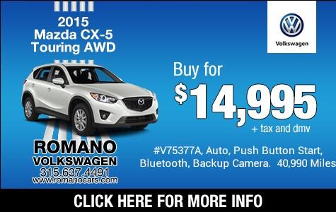Used 2015 Mazda CX-5 Touring AWD