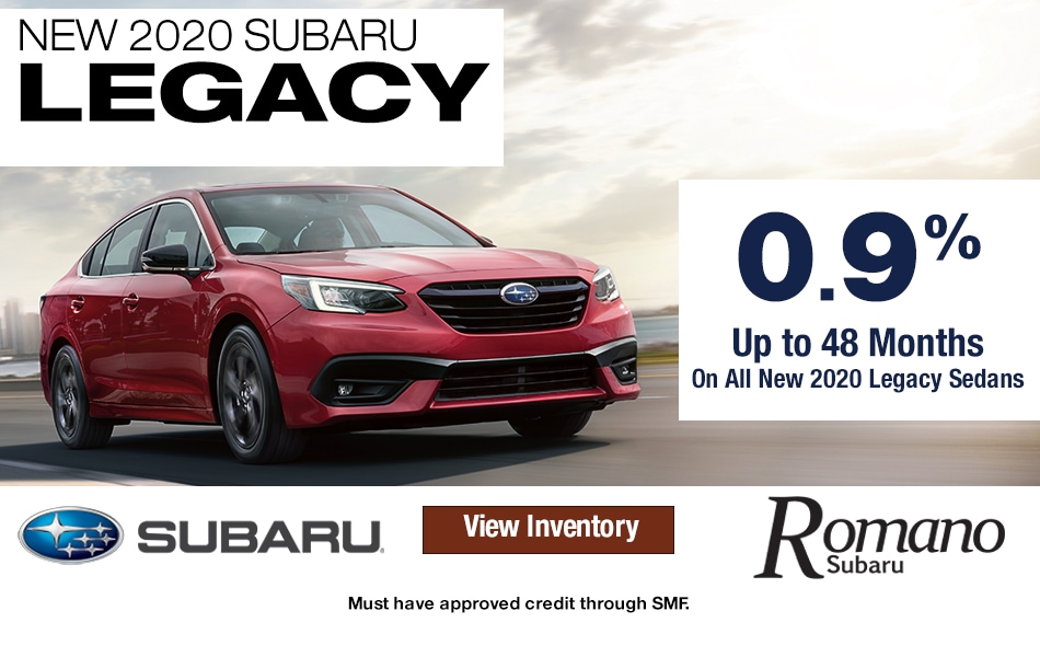New 2020 Subaru Legacy Leases