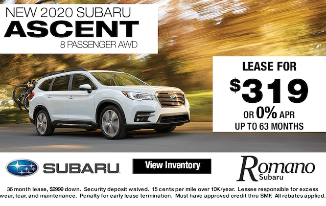 New 2020 Subaru Ascent Leases