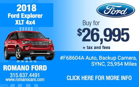 Used 2018 Ford Explorer XLT 4x4