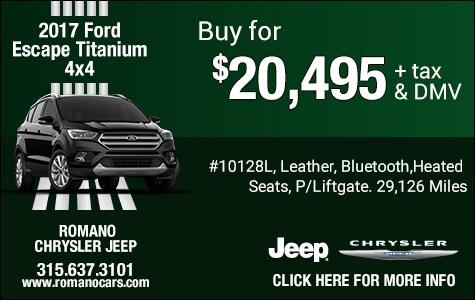 Used 2017 Ford Escape Titanium 4x4