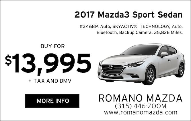 Used 2017 Mazda3 Sport Sedan