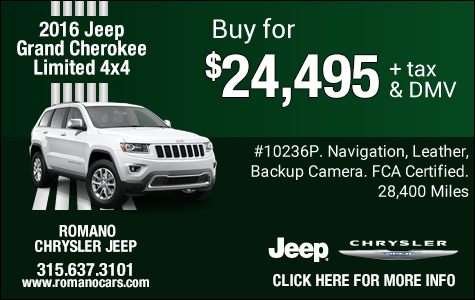 Used 2016 Jeep Grand Cherokee Limited 4x4