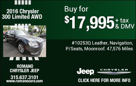 Used 2016 Chrysler 300 AWD
