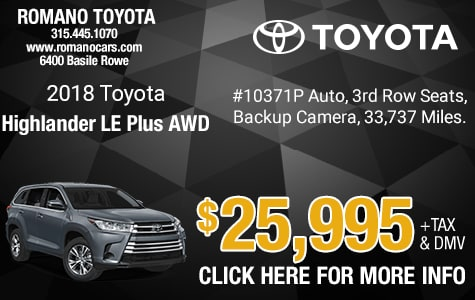 Used 2018 Toyota Highlander LE Plus AWD