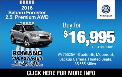 Used 2016 Subaru Forester Premium
