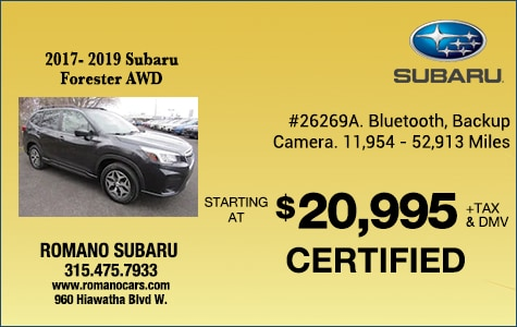 Certified Pre-Owned Subaru Foresters