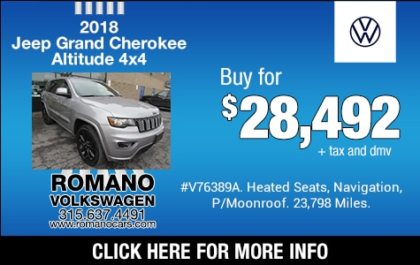 Used 2018 Jeep Grand Cherokee Altitude 4x4
