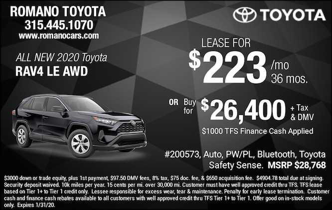Lease Specials Near Me >> New Toyota Lease Deals Specials Offers Near Me Syracuse Ny