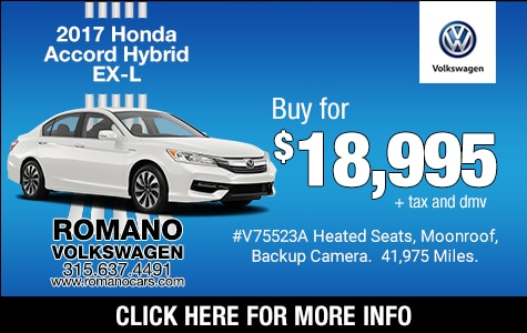 Used 2017 Honda Accord Hybrid EX-L