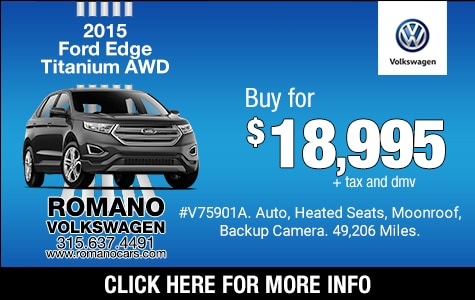 Used 2015 Ford Edge Titanium AWD