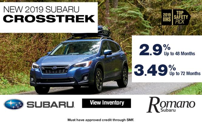 New 2019 Subaru Crosstrek 2.0i AWD Leases