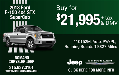 Used 2013 Ford F-150 4x4 STX SuperCab