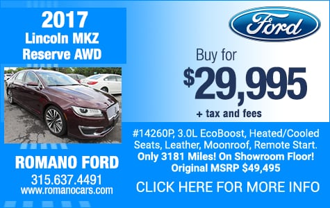 Used 2017 Lincoln MKZ Reserve AWD