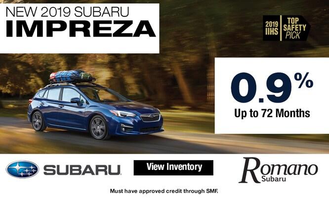 New 2019 Subaru Impreza Hatch Leases