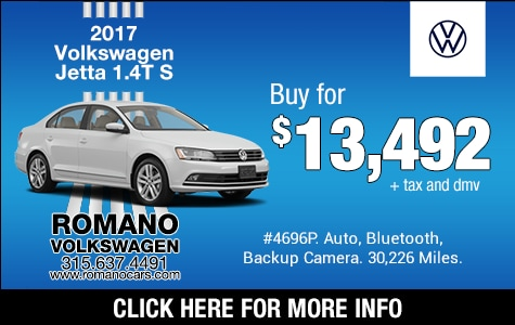 Used 2017 VW Jetta 1.4T S