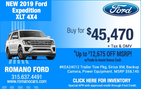 19 Ford Expedition XLT