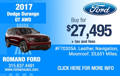 Used 2017 Dodge Durango GT AWD