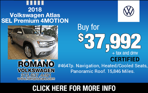 Used 2018 VW Atlas SEL Premium