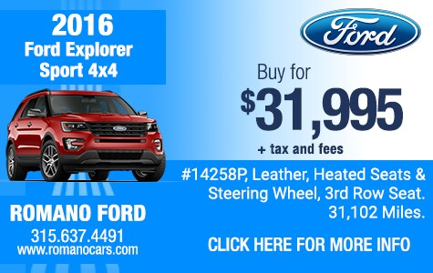 Used 2016 Ford Explorer Sport 4x4