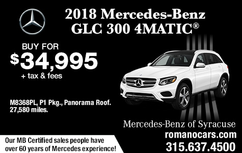 Used 2018 Mercedes GLC 300 4MATIC