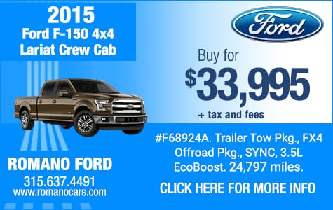 Used 2015 Ford F-150 Lariat 4x4