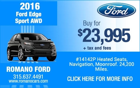 Used 2016 Ford Edge Sport AWD