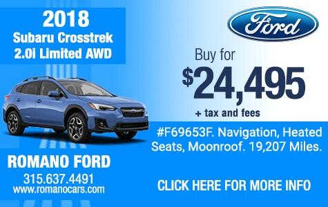Used 2018 Subaru Crosstrek Limited AWD