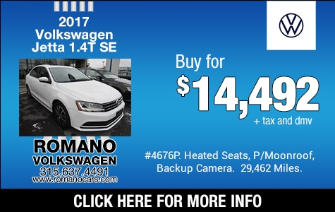 Used 2017 VW Jetta 1.4T SE