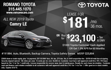Car Leases Under 200 >> Buy And Lease Specials Deals Cars Trucks Suvs Near Me Syracuse Ny