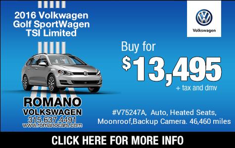 Used 2016 VW Golf SportWagen TSI Limited