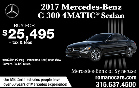 Used 2017 Mercedes-Benz C 300 4MATIC Sedan