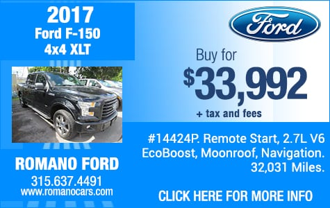 Used 2017 Ford F-150 4x4 XLT